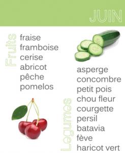 vegetaux juin