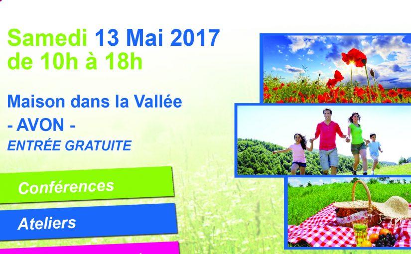 Salon créez votre bien-être à Avon 13/05/2017