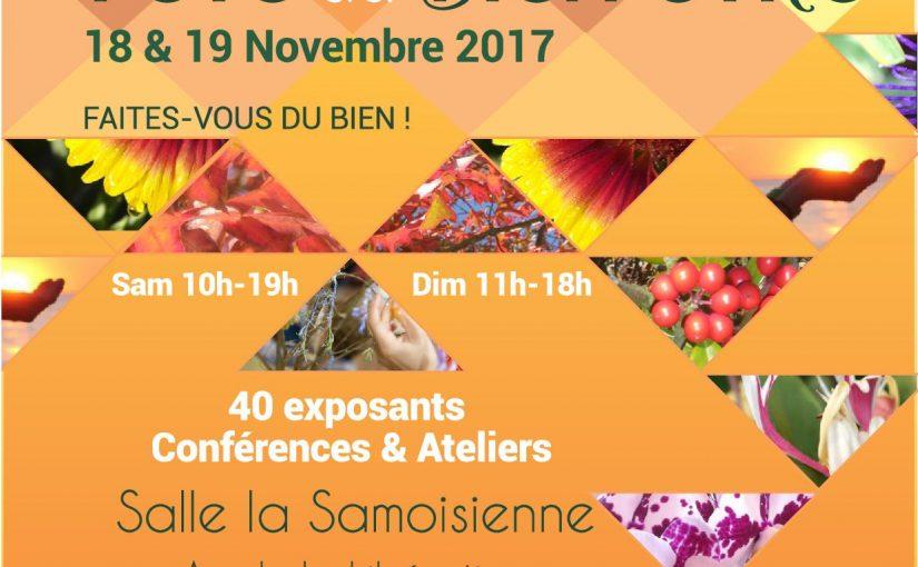Fête du Bien Etre de Samois sur Seine 18 et 19 Novembre 2017