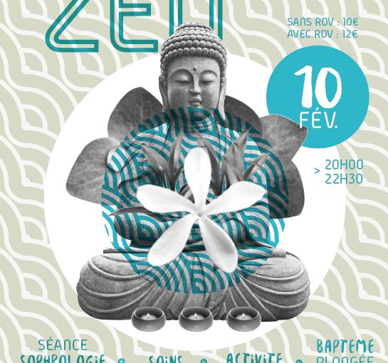 Soirée Zen au Centre aquatique de Milly la Forêt 10 Février 2018